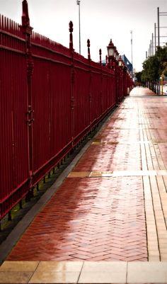 Auckland New Zealand Sidewalk