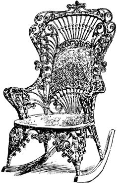 Victorian Furniture Clip Art Vintage Couch Set Living