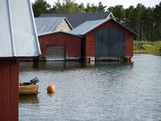 Fejan and crossing the Åland Sea Archipelago, Sailing, Shed, Outdoor Structures, Cabin, Dance, Country, House Styles, Blog
