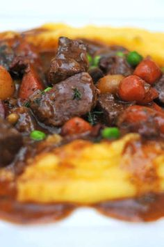 Carnes de Rioja Recipe (Spanish Red Wine Beef Stew).  **NOTES**:  A hearty beef stew with a twist.  Staple winter meal.