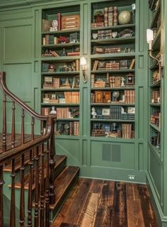 Dream Home Design, My Dream Home, House Design, Cottage Design, Cottage Style, Casa Loft, Home Libraries, Aesthetic Rooms, House Goals