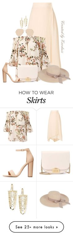 """Vacay"" by exoduss on Polyvore featuring Fendi, Sans Souci, Eugenia Kim, Linda Farrow, Lana, Victoria Beckham, Charlotte Russe, contestentry, BeachPlease and spring2018"