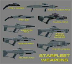 Star Trek Phaser, Star Trek Starships, Star Trek Bridge, Sci Fi Weapons, Weapons Guns, Trek Deck, Star Trek Online, United Federation Of Planets, Star Trek Characters