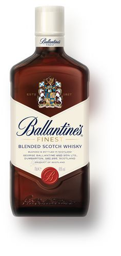Blended Scotch Whisky Ballantine's at about $18 is perfect mixed with soda and yet has enough complexity to be enjoyed on its own.