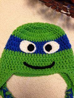 Teenage mutant ninja turtle hat on Etsy, $12.00