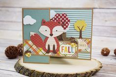 Fall Pop up card by @jbckadams for @scrapbookexpo using products from…