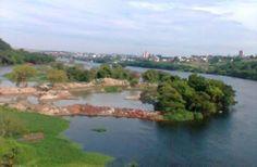 Rio Tietê em Barra Bonita-SP