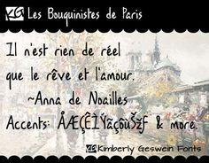 KG Les Bouquinistes de Paris font by Kimberly Geswein - FontSpace