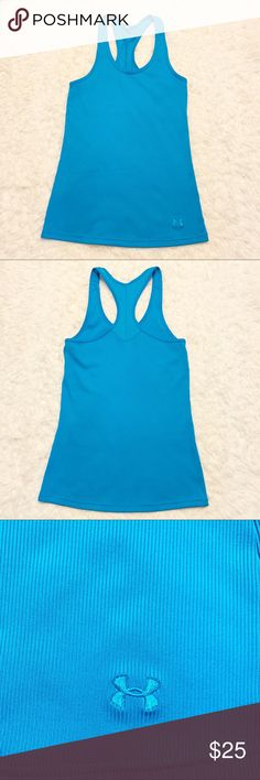 a3cdfbb73c Shop Women s Under Armour Blue size M Tank Tops at a discounted price at  Poshmark.