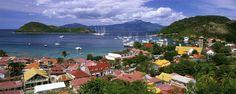 Le port des Saintes - La Guadeloupe - Les îles de Guadeloupe