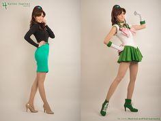 Sailor Jupiter - Agent of Love and Courage by Benny-Lee.deviantart.com on @DeviantArt