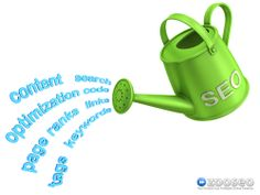 An analogy that we often use is that having a website is like having a garden. #SEO