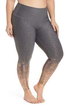 f995d4e8acabc Beyond Yoga Alloy Ombre Leggings - Plus Size Rose Gold Shoes