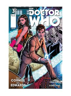 Four Doctors #3 (Hot Topic Variant cover by Adriana Melo).