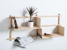 Librería de pared composable FOLDIN by EMKO UAB diseño etc.etc.