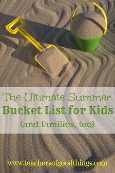 Wow, a great list of ideas to keep the kids active in the summer and have a great time.