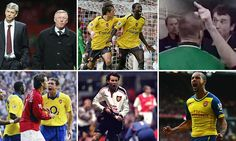 Trivia: How well do you know the history of Manchester United vs Arsenal matches? Arsenal Match, Manchester United, Trivia, Daily Mail, Over The Years, Did You Know, Two By Two, Wellness, The Unit