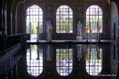 Indoor Roman blue pool!