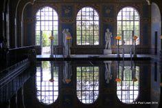 Indoor Roman blue pool!