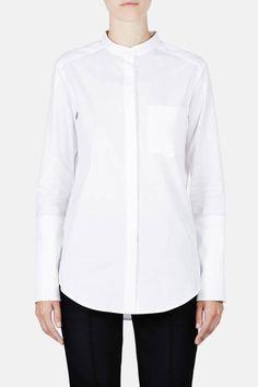 Protagonist — Shirt 06 Collarstand Dress Shirt — THE LINE