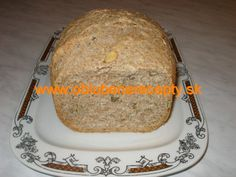 Chlieb grahamový so semiačkami Bread Machine Recipes, Food, Essen, Meals, Yemek, Bread Maker Recipes, Eten