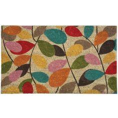 ivy leaf door mat by i love retro | notonthehighstreet.com