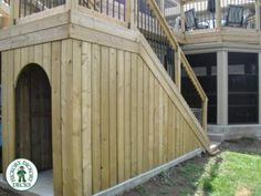 1000 images about 2nd story deck ideas on pinterest for Garage under deck