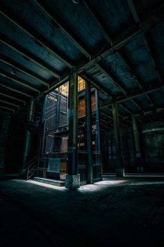 Abandoned naval fuel depot elevator. Photo by Todd Sipes.