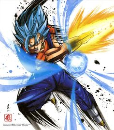 """Dragon Ball Shikishi ART 3 Vegetto"