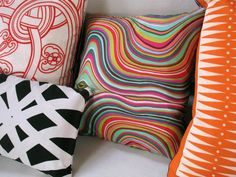 Silk pillows 25 Awesome Scarf Projects to Try This Summer