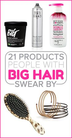 21 Products People With Big Hair Swear By