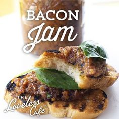 Savory with a hint of sweetness- Bacon Jam from the Loveless Cafe. Fantastic as a spread on crostini or topping on grilled fresh fish!