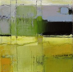 """""""Marshfield #2"""" by Irma Cerese. I always love a good abstracted landscape."""