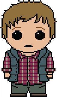 Doctor Who: Rory Williams PDF Chart Cross Stitch Pattern