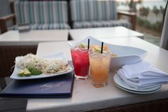 Enjoy handcrafted cocktails and appetizers while watching the sunset on High Rooftop Lounge in Venice Beach, Ca.