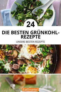 Die besten Grünkohl-Rezepte | eatsmarter.de #grünkohl #rezepte Kids Menu, Healthy Kids, Clean Eating, Good Food, Food And Drink, Low Carb, Beef, Chicken, Ethnic Recipes