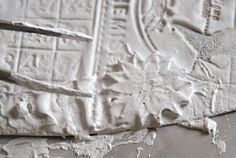 gesso and baking soda