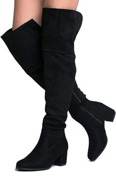 fa84aefaaff43 690 Best Womens Over The Knee Boots images in 2019 | Women's over ...