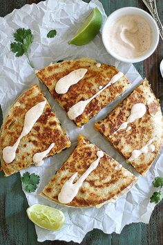 Give Classic Quesadillas an Autumnal Twist