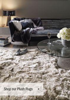 Plush Shaggy Sand Rug Collection