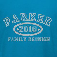 Customizable family reunion t-shirt template. Easily add your family name and date in our online design studio. Choose from great family products like Hanes, Next Level and American Apparel. We offer children's and infant sizes too for the latest family additions. Great prices and no minimum required options. Plus free 10-day shipping in the U.S. Great for family reunion souvenirs!
