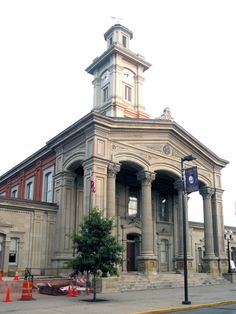 ARCHITECTURE – Ross County Courthouse - Chillicothe, Ohio. Built: 1858 1900 Population: 12,976