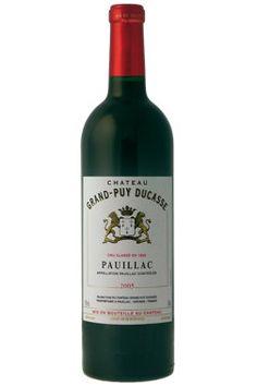 Château Grand-Puy Ducasse 2005   Vin rouge   00894212   SAQ.com