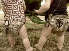 Military diaper cover--super cute :)