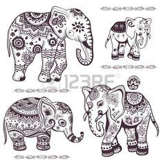 Resultado de imagen para imagenes de elefantes para dibujar