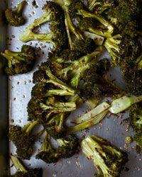 Roasted Broccoli with Sesame Recipe on Food & Wine