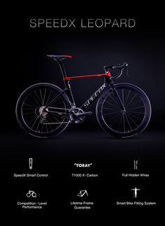 SpeedX Leopard - first ever smart aero road bike | Indiegogo