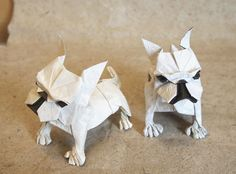 OrigamiFrench Bulldog 2017 by Lonely-Shiba