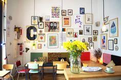 beautiful cafe in Barcelona, Cafe Cometa