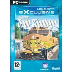 MICROSOFT TRAIN SIMULATOR PC Video game Special edition